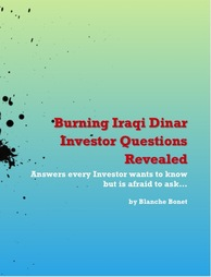 Iraqi Dinar Questions Revealed